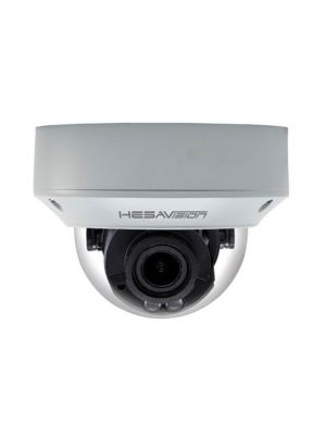 Telecamera IP Dome 2 MPixel, 1/2.8,  ICR, varifocal 2.8-12mm, H.264/MJPEG, Tri-Streaming, antivandalo, 12Vc.c. / PoE