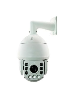 Speed-Dome a colori, Day&Night, 1080p, zoom 20X, 6 LED IR custodia per esterno e staffa da parete inclusa, 24Vc.a.
